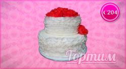 cвадебный торт