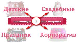как заказать торт