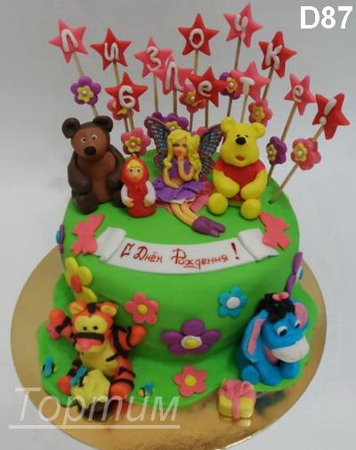 Торты детские торты торт на