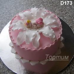 торт на рождение ребёнка