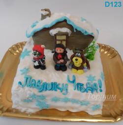 детский тортик