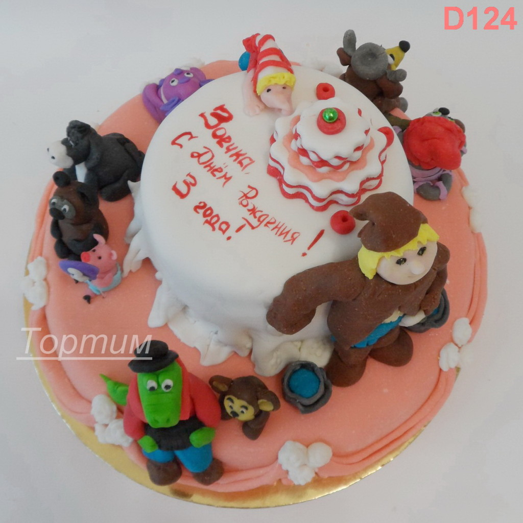 Детские торты на заказ в нижнем
