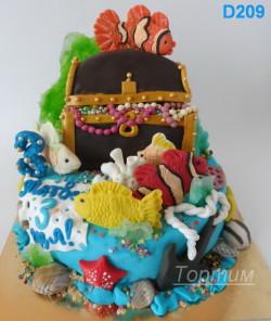 оригинальный торт на заказ
