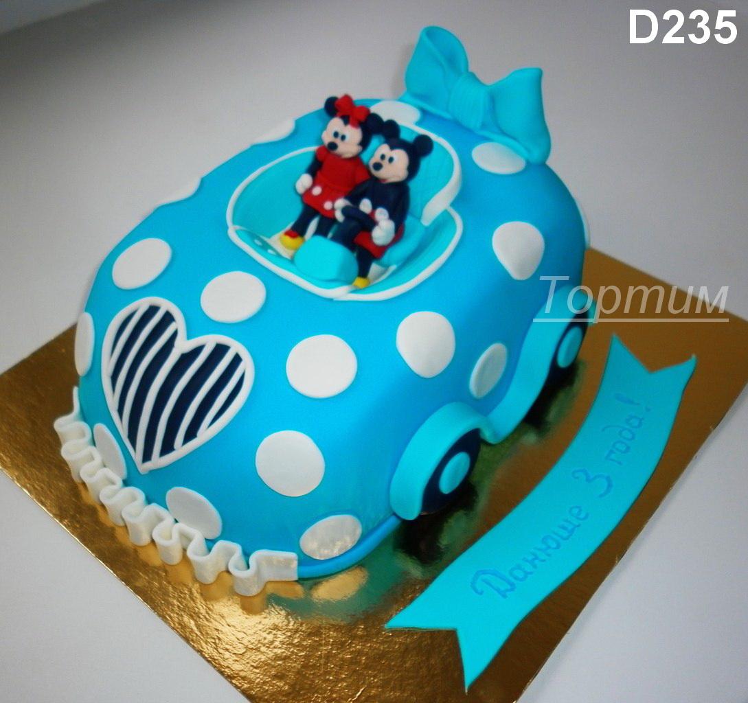 Торт для ребенка на заказ за 2 дня