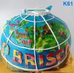 торт глобус