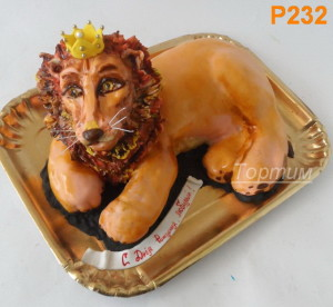торт лев