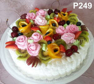 сливочный торт на заказ