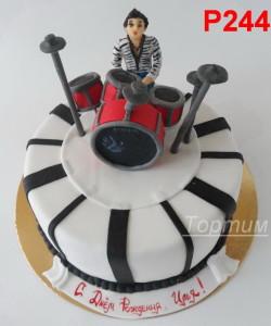 торт на заказ музыканту