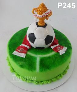 торт на заказ футбол
