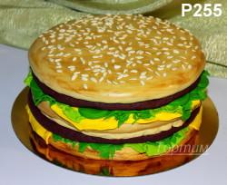 торт гамбургер