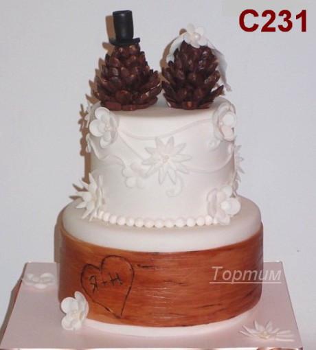 красивый торт на свадьбу