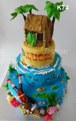 туристический торт