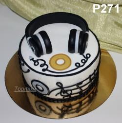 торт наушники