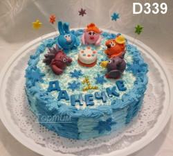 детский сливочный торт