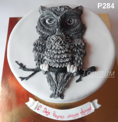 торт сова
