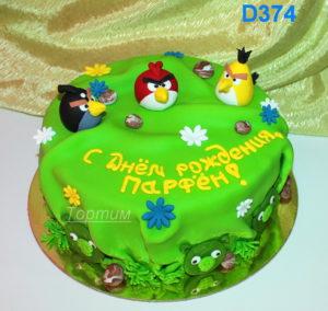 торт angry birdth