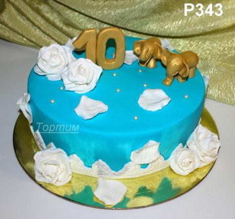 торт слоны