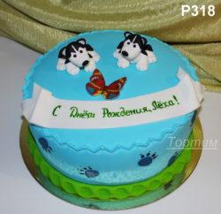 торт хаски