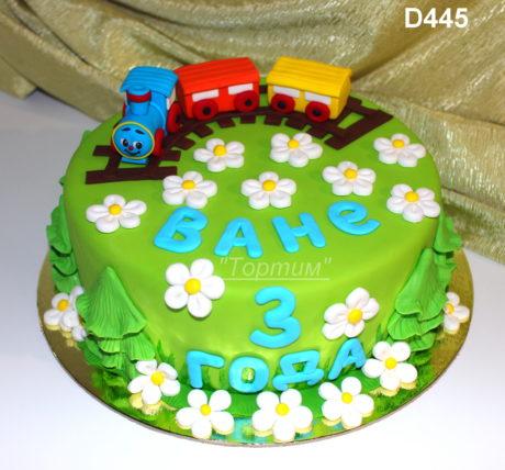 торт ромашково