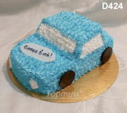 сливочный торт машина
